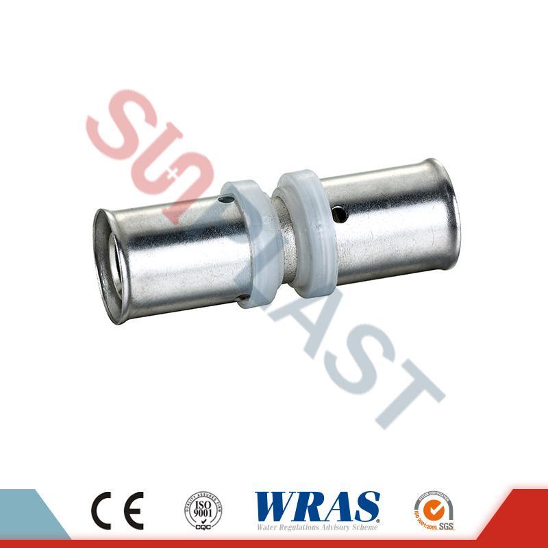 PEX-AL-PEX Pipe Messing Coupler