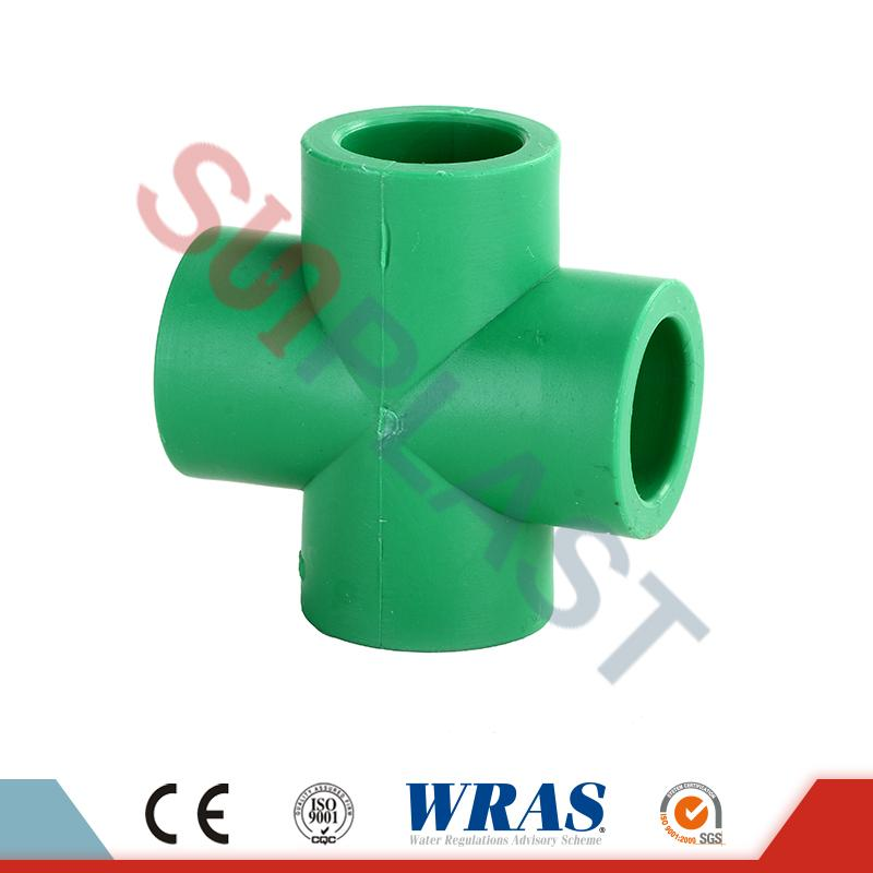 DIN8078 PPR Cross Fittings
