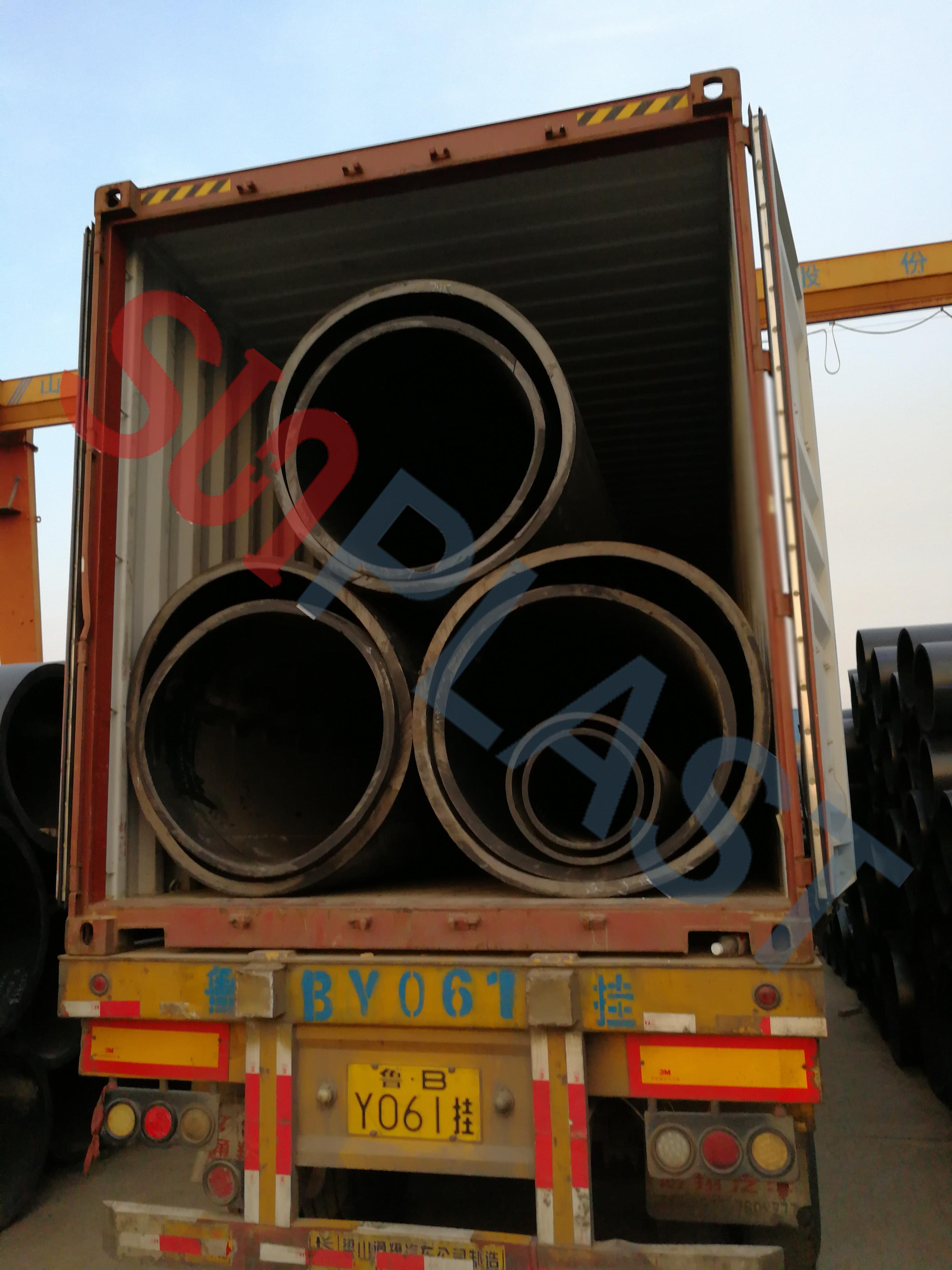 SUNPLAST DN1000 / DN1200mm HDPE rør til Australien